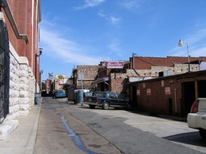 the alley behind Tootsie's