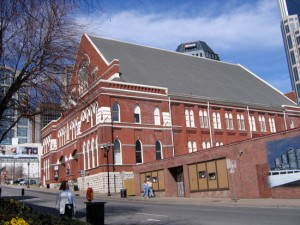 The Ryman Auditorium Recently