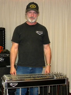 A Steel Guitar Player