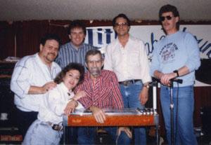 Wayne Kincaid on steel guitar