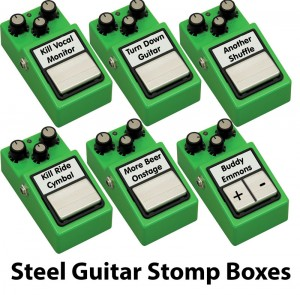 Steel Guitar Stomp Boxes